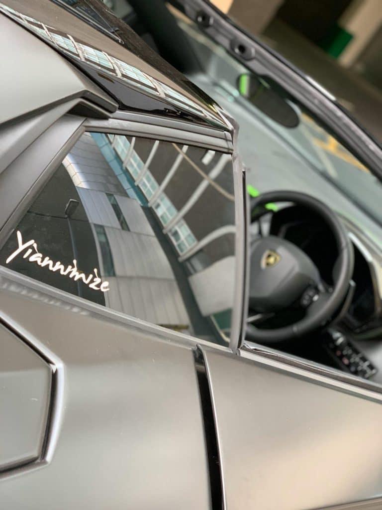 Lamborghini Ghost and Tracker