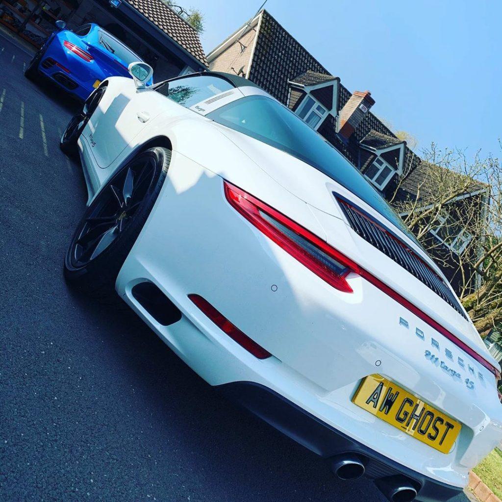 Porsche 911 4S Ghost Immobisiler Install