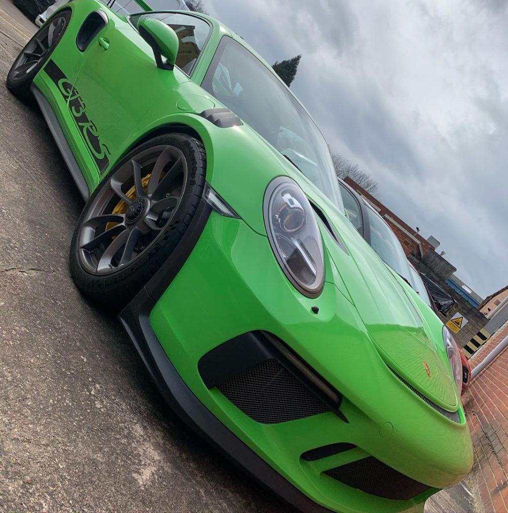 Porsche GT3 RS Ghost Immobisiler Installer